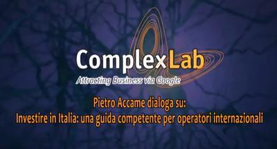 Investire in Italia: i consigli di Pietro Accame - VIDEO