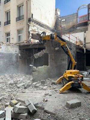 Demolizioni controllate chiavi in mano, il servizio di Tep – Taglio e perforazione cemento armato