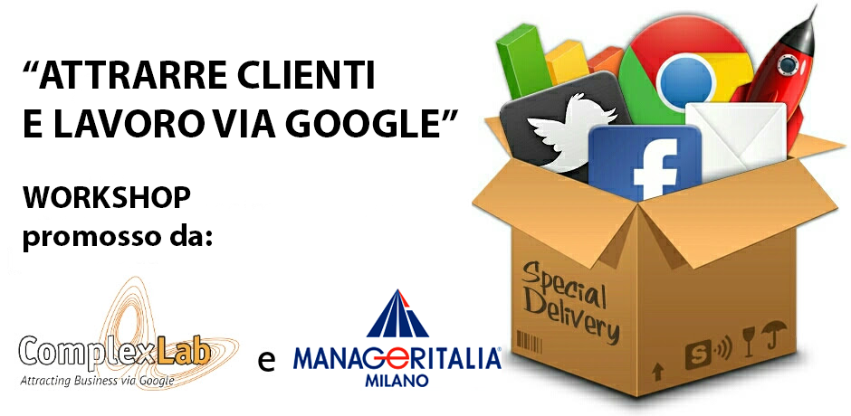 Attrarre clienti e lavoro via Google