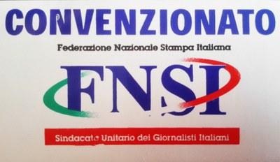 Convenzione FNSI