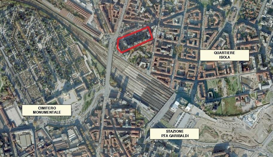 property management Figura 1 - Localizzazione del complesso Bassi Business Park..jpg