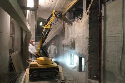 Carotaggio e taglio cemento armato con robot da demolizione: le eccellenze di Tep