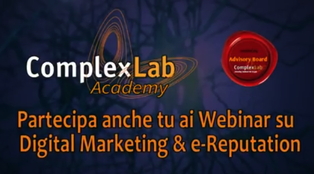 Partecipa anche tu ai Webinar gratuiti su Digital Marketing & e-Reputation!