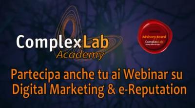 Partecipa anche tu ai Webinar gratuiti su Digital Marketing & e-Reputation!